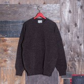 CREW-NECK KNIT SWEATER (HEAVY WEIGHT SHETLAND/006)