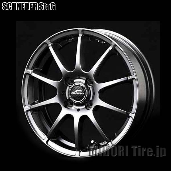 SCHNEDER StaG《13インチ×4.0(4枚)》【軽自動車用ホイール】