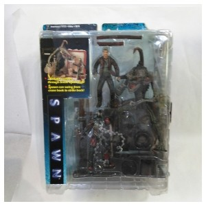 【未使用品】パッケージダメージあり 【McFarlane Toys Spawn Series 】Spawn Alley Playset